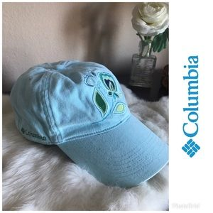 Columbia Womens Cap blue Embroidered Omni-shade